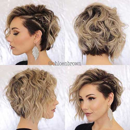 Easy Braids for Short Hair-6