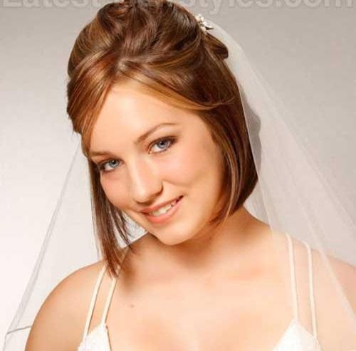 Wedding Hairstyles for Short Bob Hair Updos-6