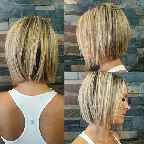 Blonde Bob Style Haircuts-7
