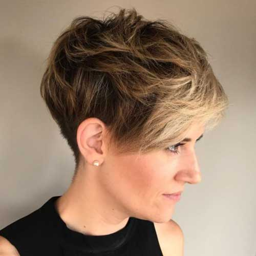 Long Pixie Cut Styles Thick Blonde Hair-7