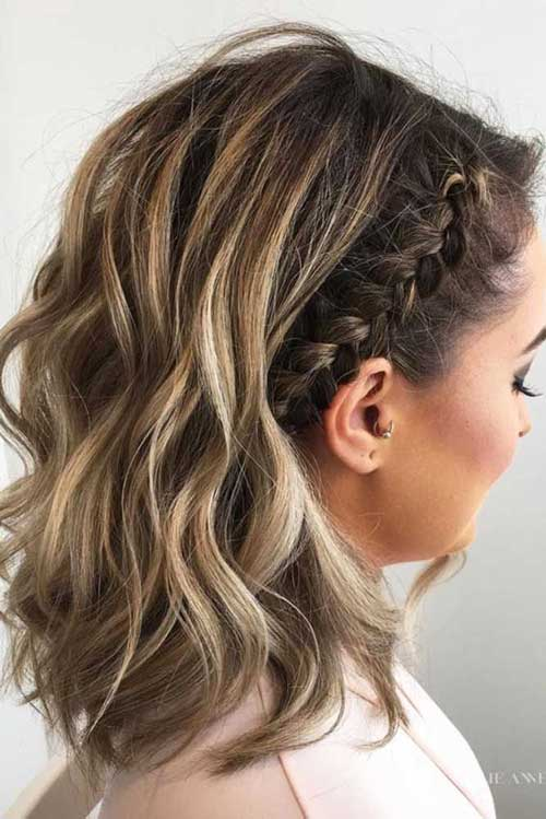Easy Braids for Short Updo Hair-7
