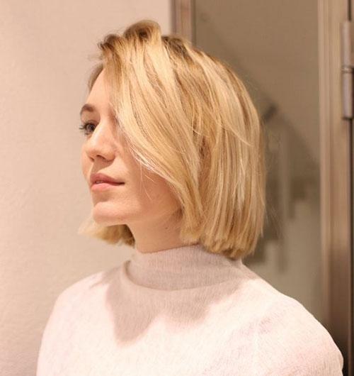 Bob Blonde Hair Cut-8