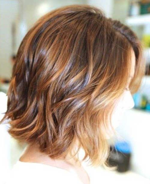 Hair Highlights for Lob Haircut-8