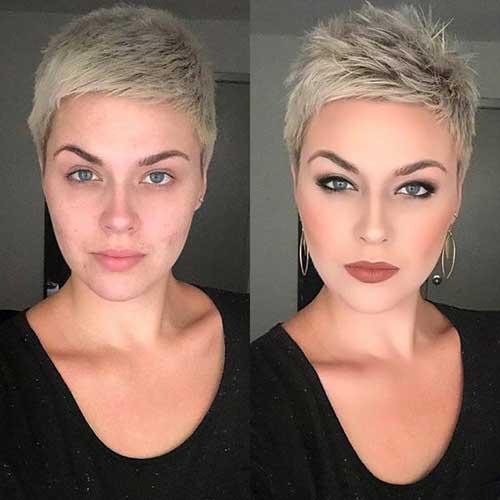Very Short Choppy Hairstyles for Women-8
