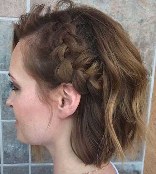 Easy Braids for Short Hair-9
