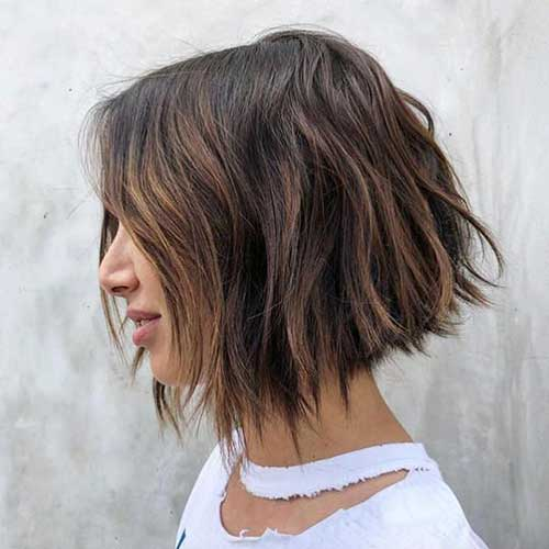 Highlights for Short Brown Hair