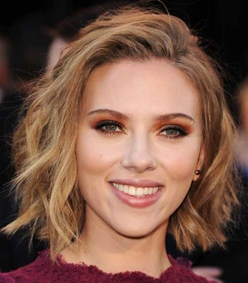 Short Choppy Hairstyles for Round Faces