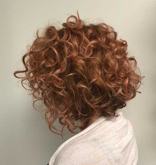 Short Haircuts for Curly Hair 2019