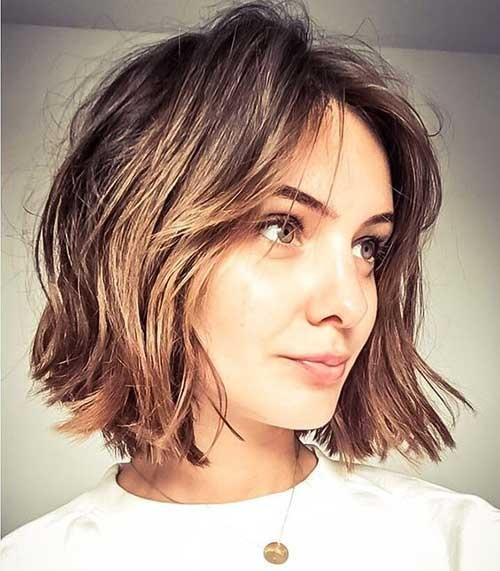 Short Layered Bob Haircuts for Fine Hair