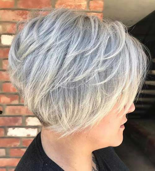 Women's Short Stacked Haircuts