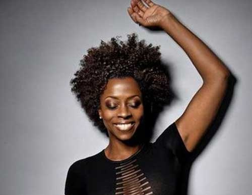 Cool Afro Hairstyles for Short Hair-10