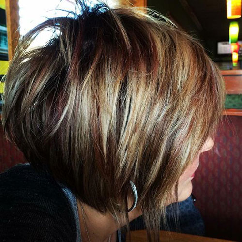Short Haircuts for Women with Thick Hair-12