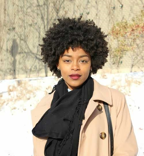 Afro Hairstyles for Short Hair-13