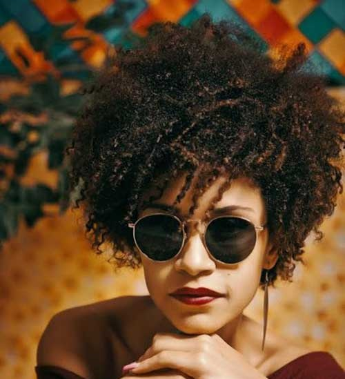 Afro Hairstyles for Short Hair-14