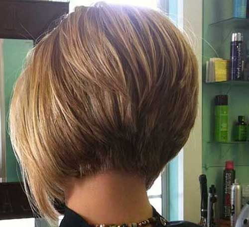 Short Haircuts for Women with Thick Hair-14