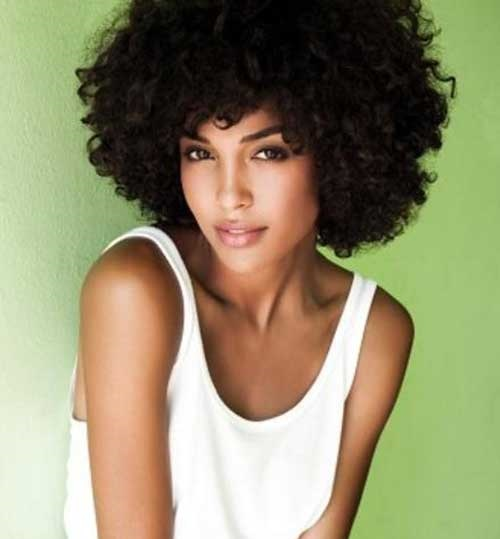Afro Hairstyles for Short Hair-19