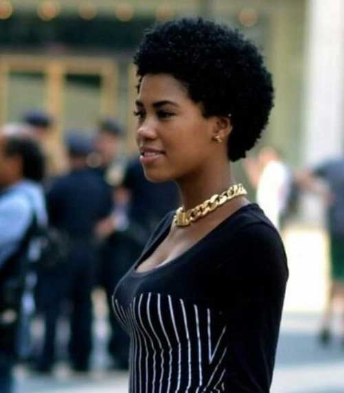 Afro Hairstyles for Short Hair-20