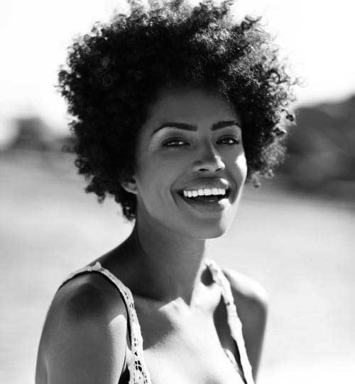 Afro Hairstyles for Short Hair-21