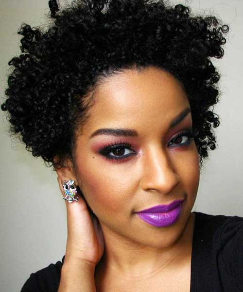 Afro Hairstyles for Short Hair-22