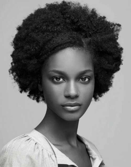 Afro Hairstyles for Short Hair-26