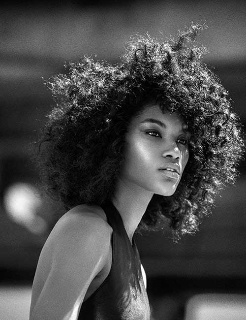Afro Hairstyles for Short Hair-29
