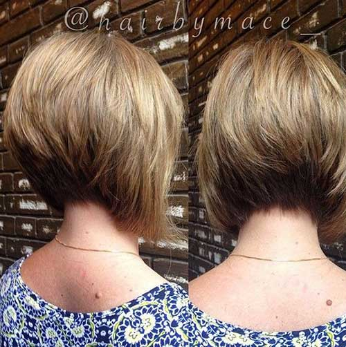 Short Graduated Bob Haircut