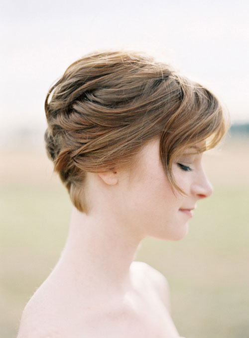 Short Hair Bride