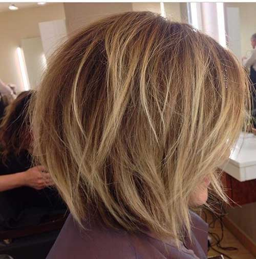 Blonde Graduated Bob Hairstyles-11