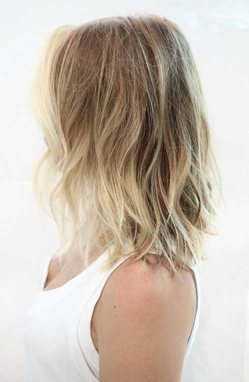 Highlighted Ombre Short Hair-9