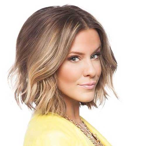 Brown Ombre Short Hair
