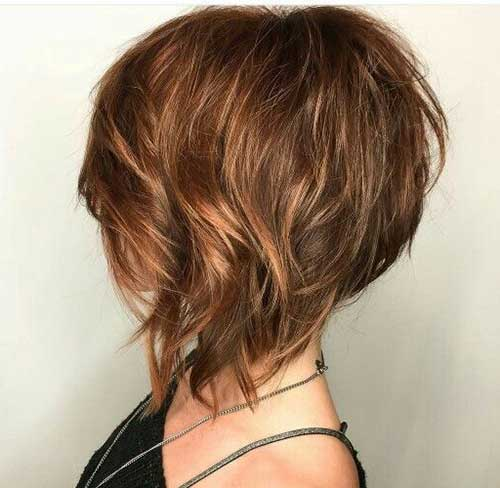 Edgy Graduated Bob Hairstyles