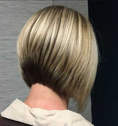 Graduated Bob Apple Cut Hairstyles-12
