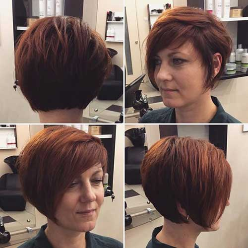 Graduated Bob Hairstyles for Over 40