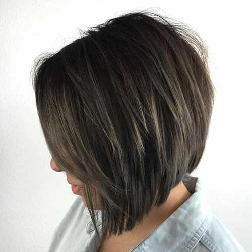 Inverted Graduated Bob Hairstyles