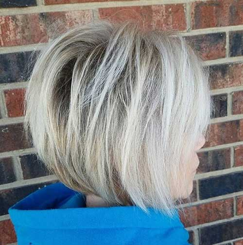 Blonde Graduated Bob Hairstyles-18