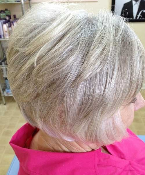 Layered Bob Haircuts Over 50