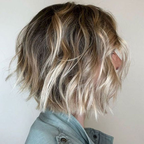 Layered Bob Ombre Hair 2019
