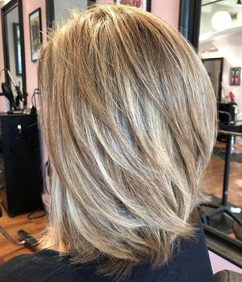 Short To Medium Layered Bob Haircuts 2019