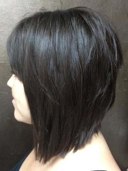Layered Bob Thick Haircuts
