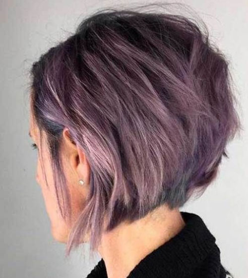 Layered Graduated Bob Hairstyles