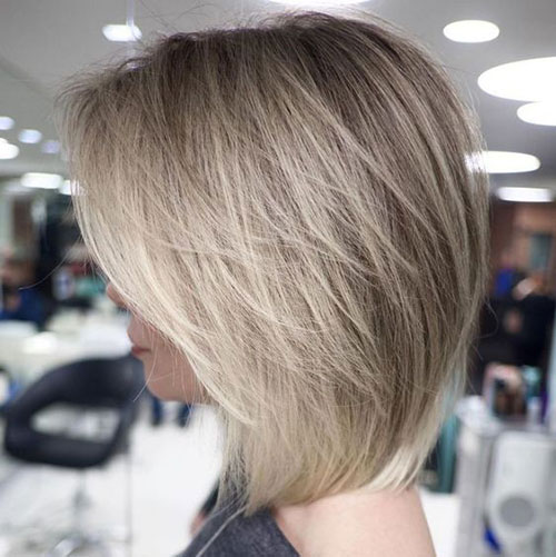 Layered Lob Haircuts