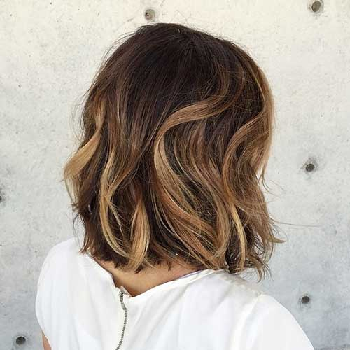 Ombre Hair Short Hair