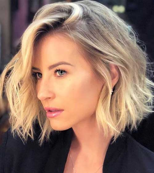 Short Choppy Haircuts for Wavy Hair