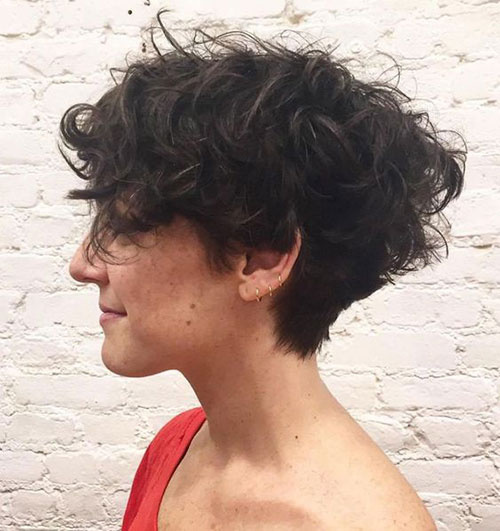 Short Haircuts for Women with Thick Curly Hair