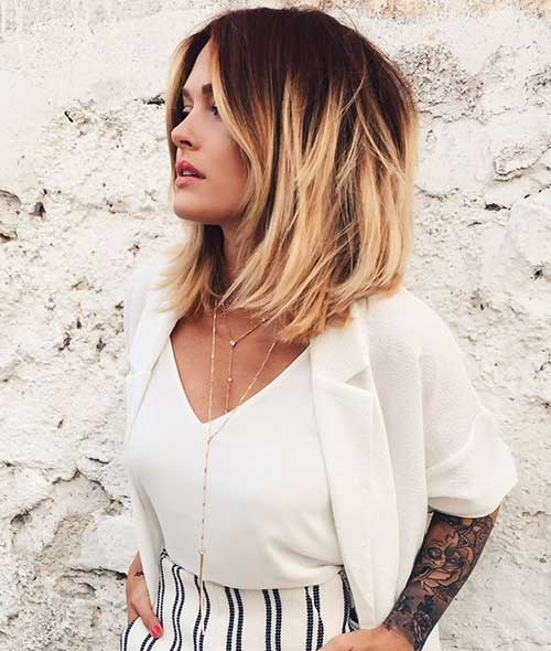 Ombre Short Thick Hair