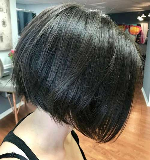Thick Textured Choppy Bob-10