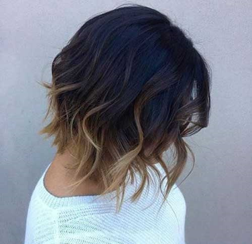 Brunette Short Hair Color Ideas-11