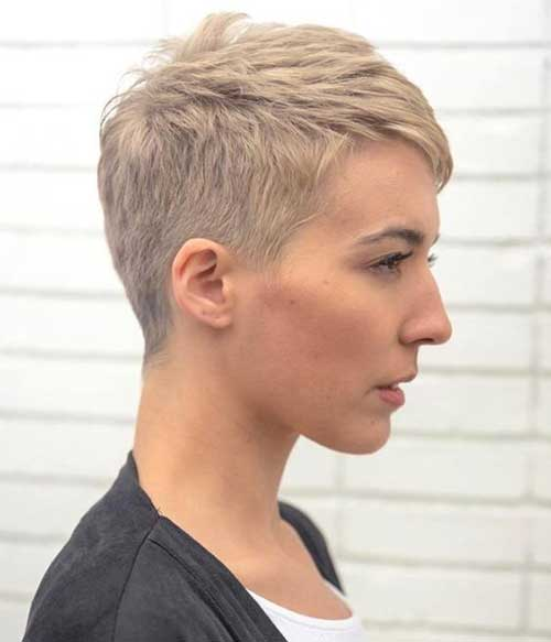 Short Blonde Cute Pixie Haircuts-11