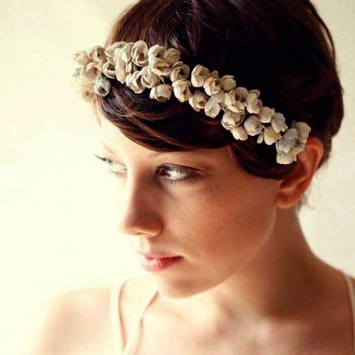 Short Hair Bridal Styles-11