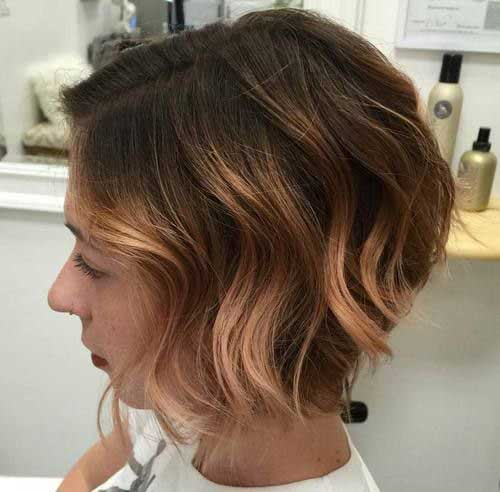 Caramel Blonde Short Hair Color Ideas-13